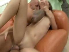 Kita Zen gets her pink oriental pussy screwed hard my a biggest hard dick
