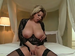 David Perry has large fair dick to satisfy Silvie Wild with her powerful large boobs