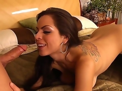 Brunette Yurizan Beltran and her horny bang buddy Derrick Pierce have a lot of licentious energy to spend