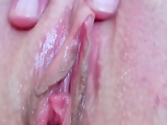 Devilishly sexy slut Eileen with wet tits and smooth undercover fucking herself with fingers on camera for your viewing enjoyment