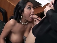 Incredibly hot Indian bulky breasted milf Priya Rai is all surrender her post co-worker in a evil and indeed arousing oral encounter which captures the eye.
