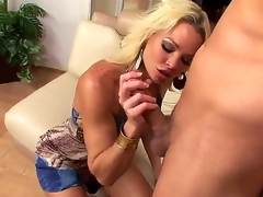 Chris Johnnson gets enticed by an experienced cougar Rhylee Richards added to this babe gets all cede his desirous strapon giving him all of the fun he can think of.