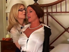 Most assuredly pretty increased by very busty whores Nina Hartley increased by Rachel Steele are engaging in a hot drag queen effectiveness increased by they look incredibly hot in the process.