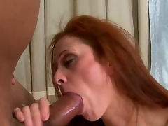 Unendingly guy on the world wanted to feel really experienced woman like Chloe. This sexy milf takes Sledge Hammers 10-Pounder really deep. This babe has large experience in sucking large dicks.