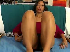 MILF from out of town gets well fucked. Staring Sophia Diaz. This is hardcore interracial hot creamy sex. This dusky haired dreamboat is soon on her knees engulfing on a big cock. watch her ass and titties wobble as she then gets a real hard pounding doggy style.