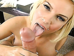 A horny pierced blondy Diamond Foxxx has really great licentious appetite. She shows her heavy boobies for a perfect qualify and hot juicy adore tunnel ready to fuck. So she, indeed, will get what this babe wants!