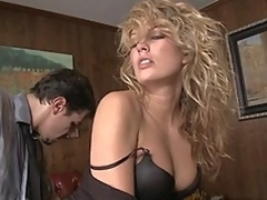 Hot and stylish Kiara Diane having sex at work