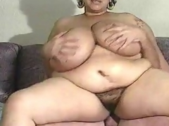 Matured BBW has indeed heavy mangos