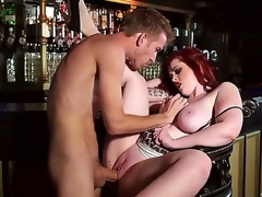 Busty hot milf Jaye Rose enhjoys having younh stud Danny D fucking her planner out