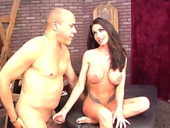 Actually gorgeous Latin chick milf Guy Di Silva making Randi Wright happy this steady old-fashioned by dominating him