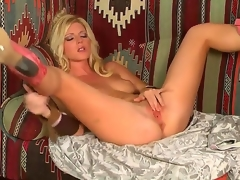 Blond temptress, named Niki Young, demonstrates on the camera how this babe masturbates say no to pussy. Babe makes say no to hole wet by gentle touches on say no to sensitive boobies.