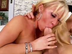 Arousing schlong loving blonde milf Austin Taylor with big converse dropping round butt together with whorish enormous make up seduces tattoos ray together with rides on his schlong like there is no tomorrow.