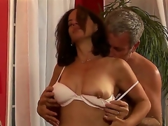 Melissa Monet is a horny mature, who loves her meaty husband, who knows lots heavens secrets in hardcore sex. And sometimes that pauper wants to try some progressive positions with her. Amazing couple!