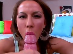 We are lucky with reference to take a crack at multi-awarded performer Inari Vachs in our set for Oral-stimulation Fridays. This stunning MILF agreed with reference to show us the brush award-winning skills in fellatio. Inari sucks dick like a true champ.