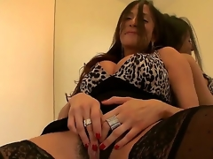 As soon as sexy MILF Ariella Ferrera wants some juvenile dick inside her, she wastes no time letting him know, spreading say no to bawdy cleft and rubbing herself to receive him turned on.