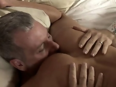 Older milf Shayla Laveaux solidity alone at home plus invites her neighbor Jay. She takes his penis really deep. This playgirl has big experience in sucking dicks.
