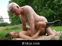 Young girl and old man fucking and the fate of in perpetuity other