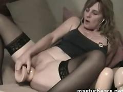my non compos mentis anal dildo masturbation