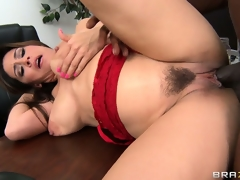 Dean Raylene sucks on his joint and then gets it go to ground pie injected