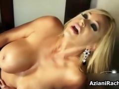Gorgeous milf up massive tits needs a dildo