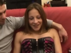 Kate french brunette fucked vulnerable a couch