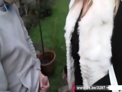 Lilou a french milf gets anal fucked indestructible