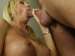 Chesty milf Brooke Tyler having sexual connection with hot boy