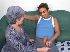Granny takes a ride insusceptible to his bone
