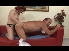 Unnatural adult diaper fetish for hot milf