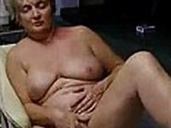 Short-haired mature woman masturbates on a pair for places in this video, this babe even uses a pair for different toys. When you're a bitch u remain one always.