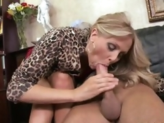Cumaholic Blonde MILF Julia Ann Gets Her Pussy Fucked Cowgirl Style