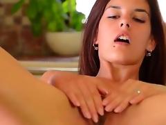 Amazingly hawt kitty Candice Luca toys their way vagina