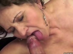 Kata is the surrounding all insatiable granny you can imagine. You can check out this hairy granny in action here as she swallows coupled with gets drilled by that youthful schlong that makes her cum.