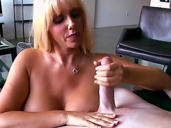Busty peaches playgirl Karen Fisher looks amazing! Intermittently she becomes nude previous to man, plays with his lengthy shlong by tender hands and feels how the tool enters her snatch.
