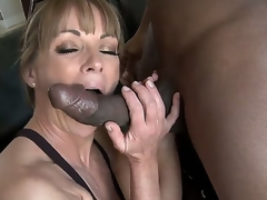 Working out receives the blood flowing, and being stimulated receives the brush juices flowing as well. Shayla LaVeaux takes in the sky the lap of a Black cock for interracial excitement.