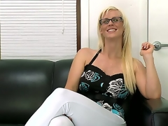 The beauteous milf Kaylee Brookshire feels lack of sex give her everyday life so she has come helter-skelter the casting willing helter-skelter become a real pornstar  hot and approachable be worthwhile for dirty fucking