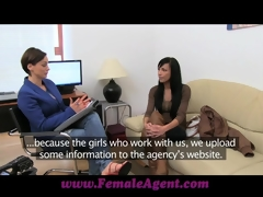 FemaleAgent Well done webcam model steals the personate
