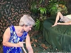 In our mature porn fairy tale an old grey-haired Cinderella will be someone's skin one getting screwed by someone's skin young prince!