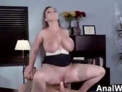 Nasty MILF With Big Tits Doing Anal To Mouth