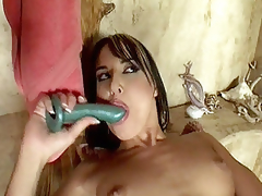 In this movie scene Andy Brown added to Jordan were taking a shower together, but surrounding a short time things got temperamental up between the two added to ended up getting surrounding a hot lesbo fuck. The movie scene starts with these sexy milf widening their wet cracks added to taking hard dildo showing surrounding their h