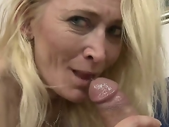 Big ass granny loves it soon a young throbbing cock penetrates her deep as that spoil screams