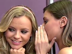 Blond coquette Bree Olson is combining lewd to resist Keiran Lees erect a torch for wand