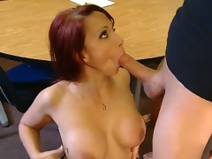 Nicki Hunter is the best sex teacher ever and today she is giving a lesson to Xander Corvus. That man really desires to be experienced in sex and Nicki knows what to do connected with him. Enjoy