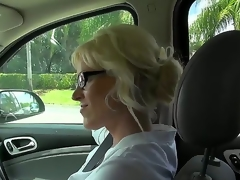 This milf is just awesome, coz she loves to fuck with strangers. Moreover, she is fond of carrying out it on camera and this day she is fucking be advisable for us. Unexcelled take a look how she sucks