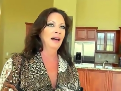 Levi and his breasty client are decorating her recent house. She wants to offer Levi somehow and finally she decides to fuck him, 'coz she is breasty milf and loves unstinted juicy cocks