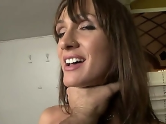 Steaming hawt milf with amazing jugs Cynthia Avalon is about to have a piece of Rocco Siffredi and this babe is expecting a really precious and hawt time.