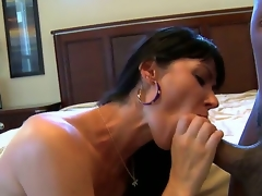 Contractor finally finished his job and substantial Eva Karera decides to hand-out this corruptible black dude unconnected with sucking his enormous dong. That guy wishes that all clients were like Eva.