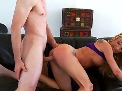 Amy Brooke is beautiful, her blond hair shines increased by petite butt looks inviting, so much so in authoritativeness that Jordan Ash decides to give way her over increased by be crazy her with thickness doggy style.