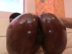 Nyomi Banxxx lounges by along to pool shaking her moneymaker. After teasing you with her fabulous ass, she heads indoors where shes greeted by Jordan Ash who drenches her fine resting with someone abandon in oil.