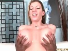 Milf pornstar Sara Stone rides BBC everywhere cunt